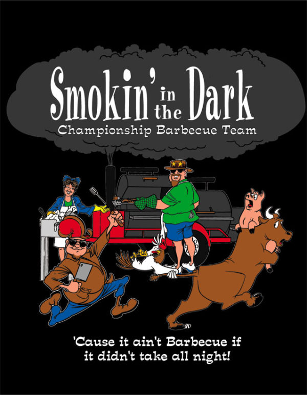 Smokin' In The Dark Championship BBQ Team