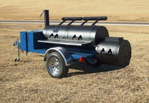 Oklahoma Joe 24 inch Double Door Trailer Smoker